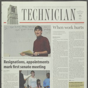 Technician, January 15, 2004