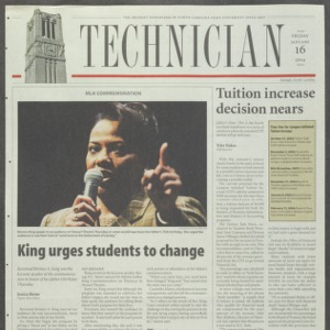 Technician, January 16, 2004