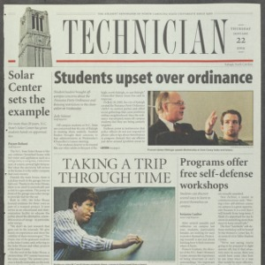 Technician, January 22, 2004