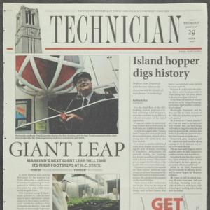 Technician, January 29, 2004