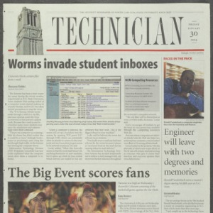 Technician, January 30, 2004