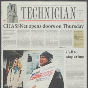 Technician, February 2, 2004