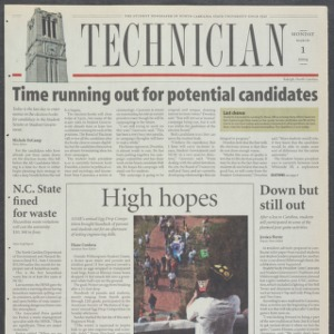 Technician, March 1, 2004