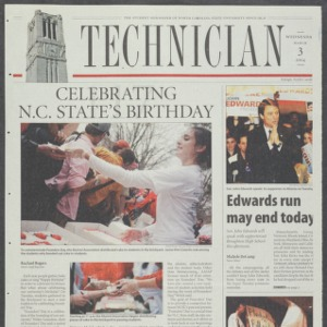 Technician, March 3, 2004