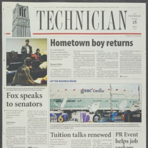 Technician, March 18, 2004