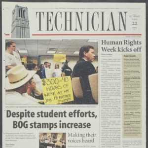 Technician, March 22, 2004