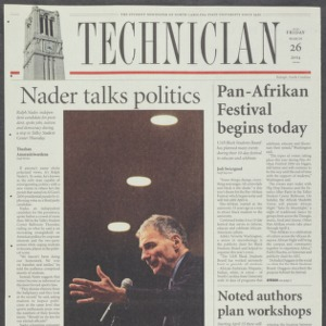 Technician, March 26, 2004