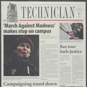Technician, March 31, 2004