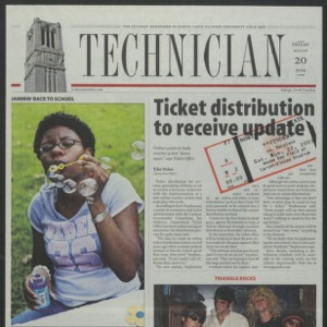 Technician, August 20, 2004