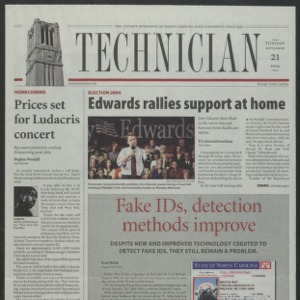 Technician, September 21, 2004