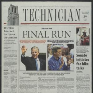 Technician, September 30, 2004