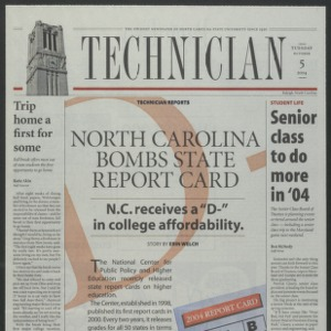 Technician, October 5, 2004