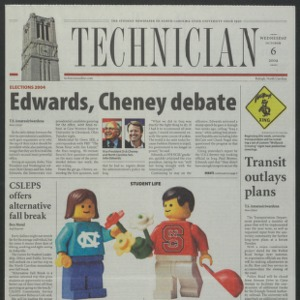 Technician, October 6, 2004