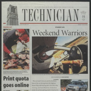 Technician, October 25, 2004
