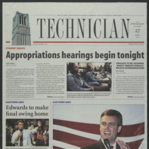 Technician, October 27, 2004