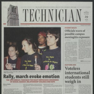Technician, October 29, 2004