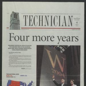 Technician, November 4, 2004