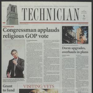 Technician, November 5, 2004