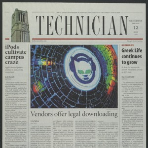Technician, January 12, 2005