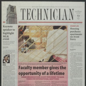 Technician, January 13, 2005