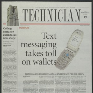 Technician, January 19, 2005