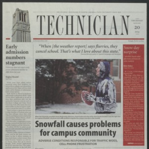 Technician, January 20, 2005