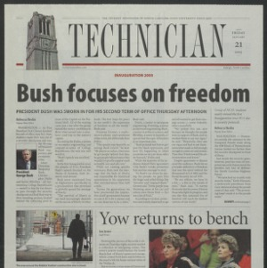 Technician, January 21, 2005