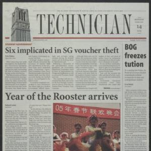 Technician, February 14, 2005