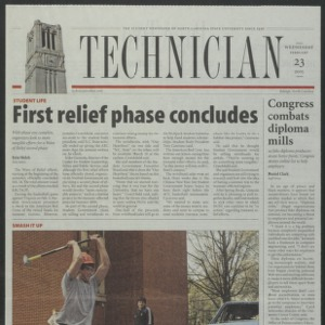 Technician, February 23, 2005