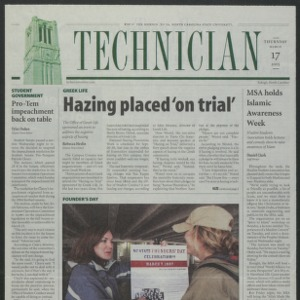 Technician, March 17, 2005