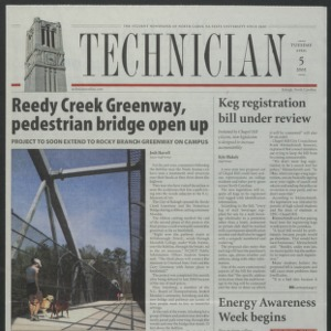 Technician, April 5, 2005