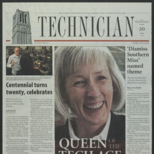 Technician, April 20, 2005