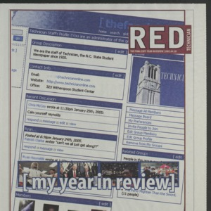 Technician, April 27, 2005, Red Edition