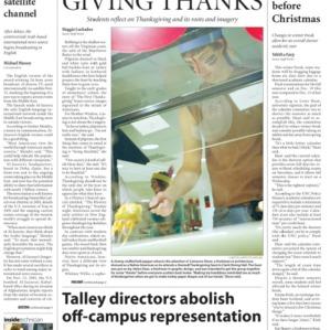 Technician, November 21, 2006