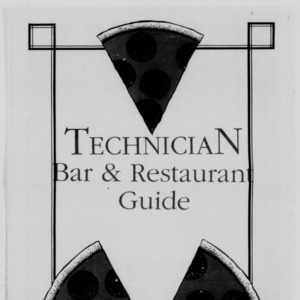 Technician, Bar and Restaurant Guide, September 28, 1988
