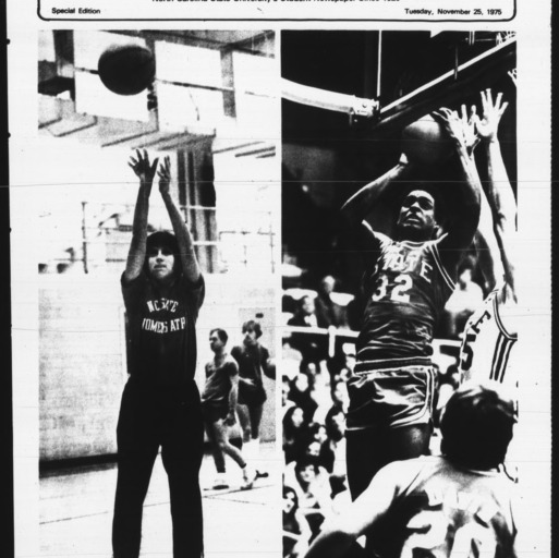Technician, Basketball Preview, November 25, 1975