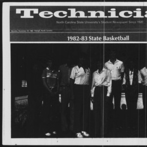Technician, Basketball Special, November 29, 1982