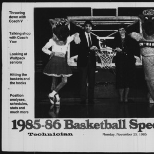 Technician, Basketball Special, November 25, 1985
