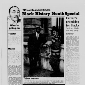 Technician, Black History Month Special, February 10, 1988