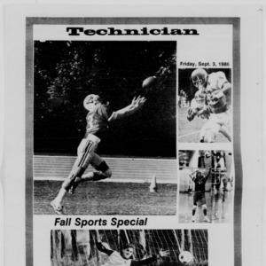 Technician, Fall Sports Special, September 3, 1986