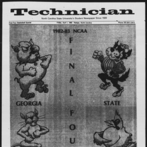 Technician, Final Four Basketball Special, April 1, 1983