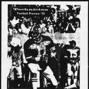 Technician, Football Preview, 1975