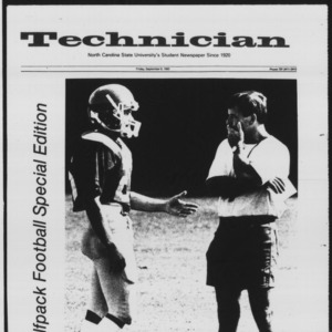 Technician, Football Special, September 9, 1983