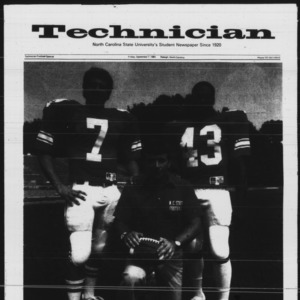Technician, 1984 Football Special, September 7, 1984