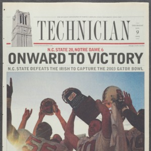 Technician, Football Special, January 9, 2003