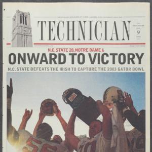 Technician, Football Special, January 9, 2003