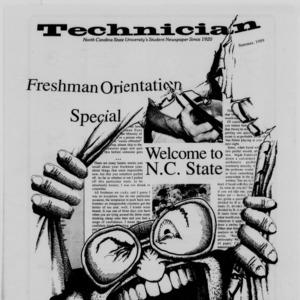 Technician, Freshman Orientation Special Summer 1989