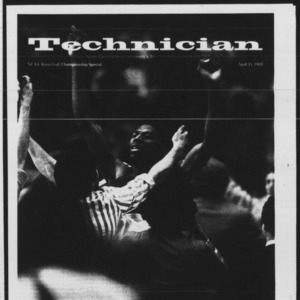 Technician, NCAA Basketball Championship Special, April 13, 1983