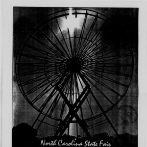 Technician, North Carolina State Fair Coupon Clipper, 1987