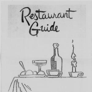 Technician, Restaurant Guide, October 1, 1986